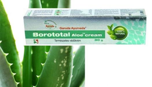 Borototal aloe krém – A természetesség nevében